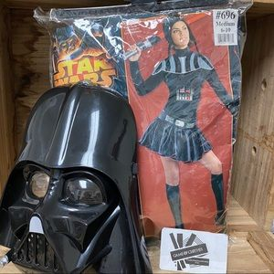 Death Vader costume for women's